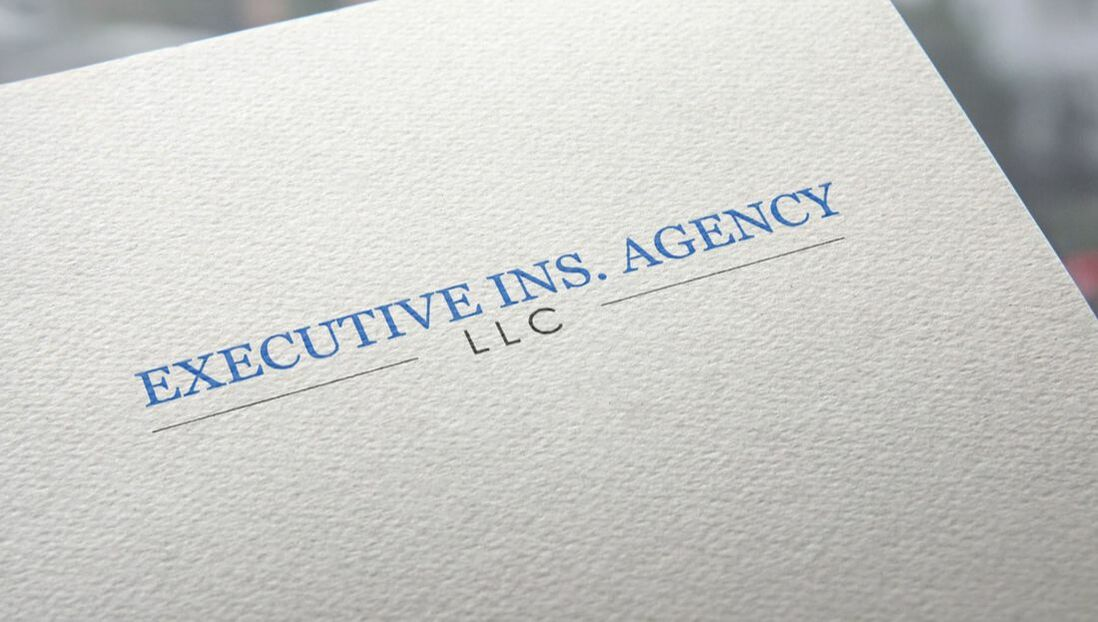 Executive Ins. Agency logo printed on paper